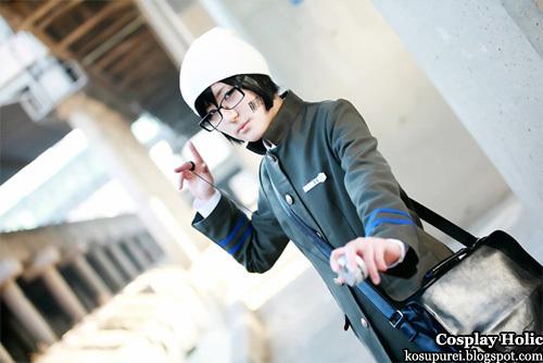 katekyo hitman reborn! cosplay - kakimoto chikusa