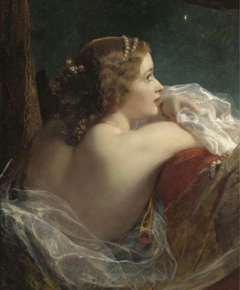 James Sant - The moonlit beauty