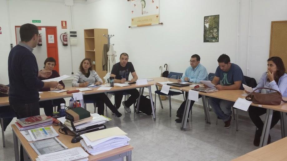 VISTA PARCIAL DE UNA DE LAS CLASES D EINGLÉS