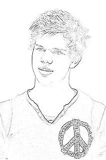 Taylor Lautner Sketch