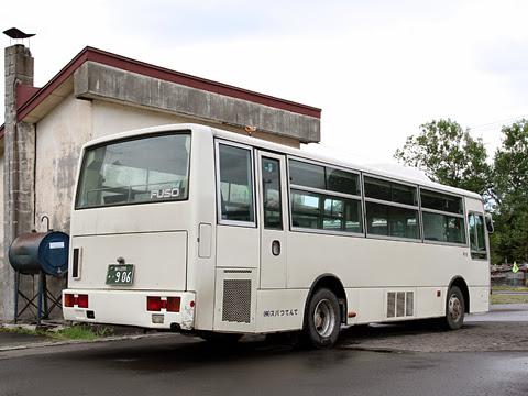 てんてつバス 留萌達布線 ・906 リア