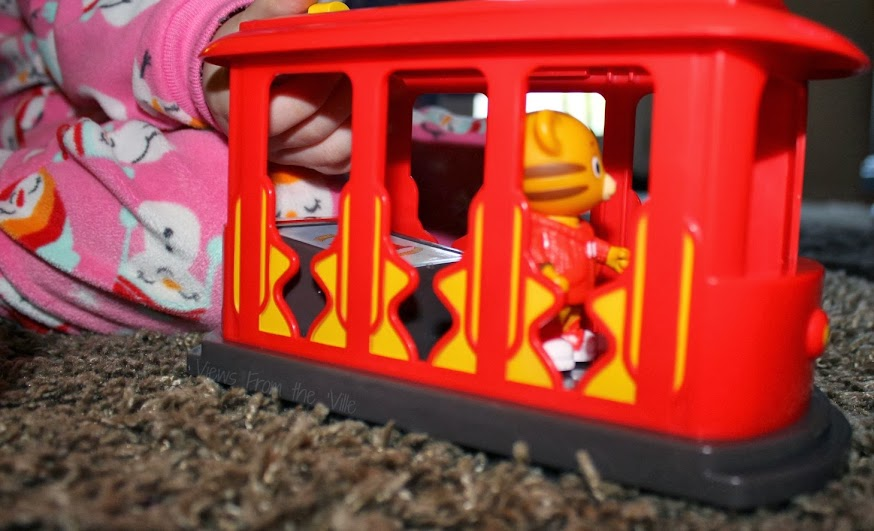 Daniel Tiger Toys Trolley Playset #DanielTigerToys
