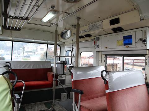 伊予鉄南予バス 1065号車 車内 その2