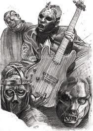 Dibujos De Slipknot Llagartoll
