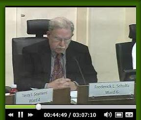 Councilmember Schultz comments on NDAA resolution effort.