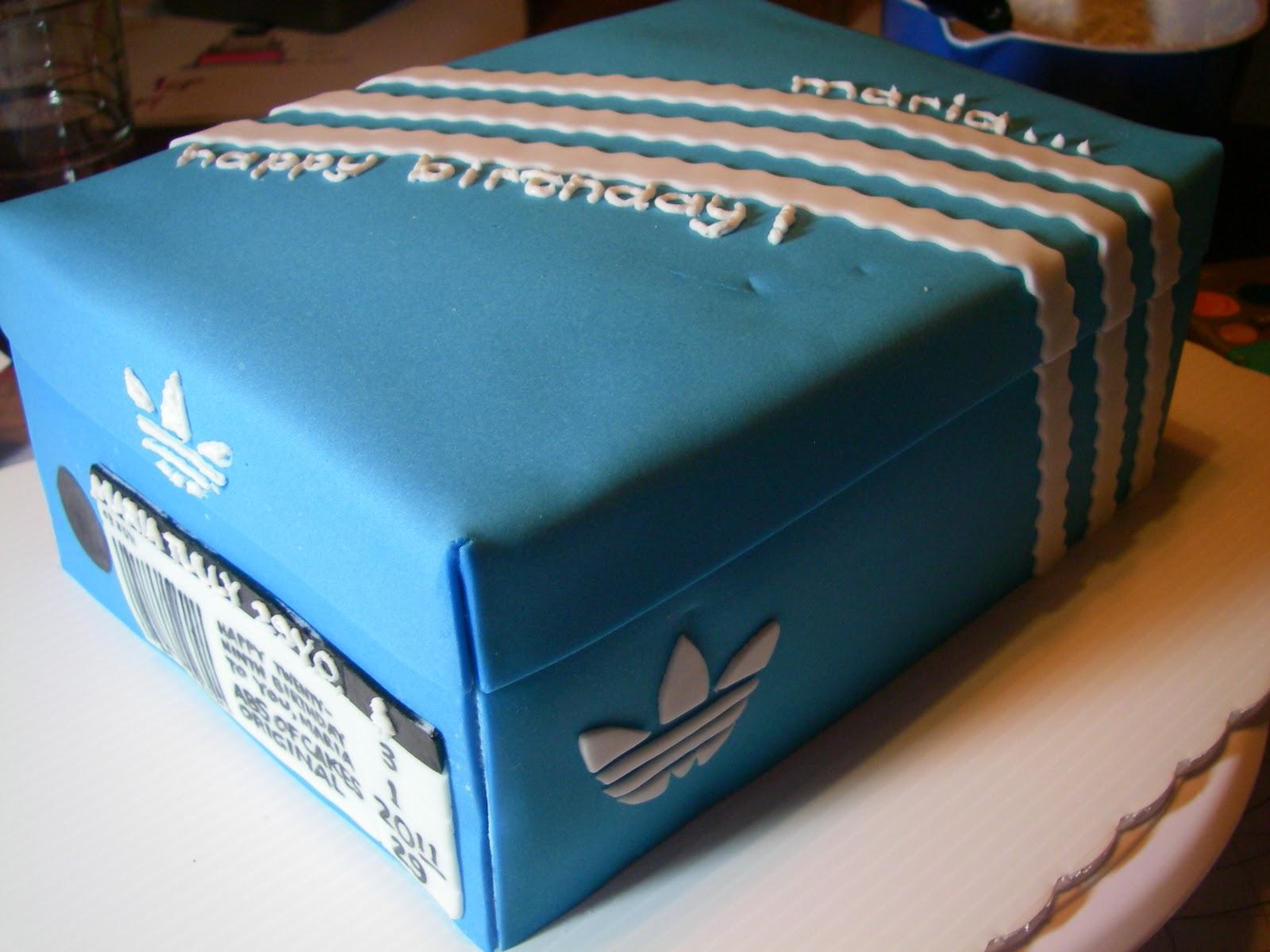 Abs Of Cakes Adidas Shoebox Cake