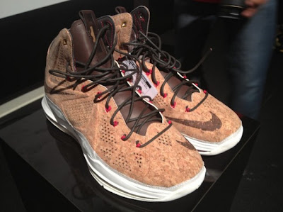 nike lebron 10 gr cork championship 3 06 Nike LeBron X NSW Cork Has Been Put on a Display