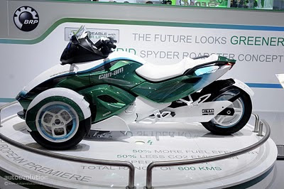 2011 Can-Am Spyder Hybrid Roadster Prototypes