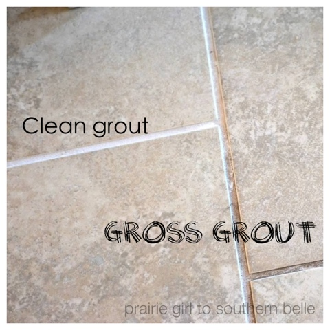 Homemade cleaner, grout cleaner, DIY Grout Cleaner