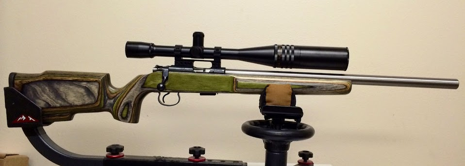 Cz455 Varmint With Lilja Match Grade Barrel