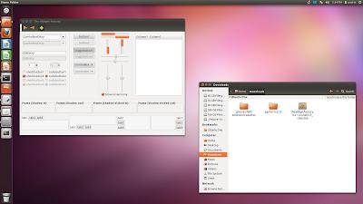 Ubuntu 11.10 Ambiance theme