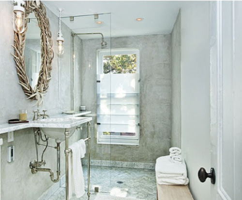 jenna lyons home brooklyn townhouse interior design white bathroom home decor