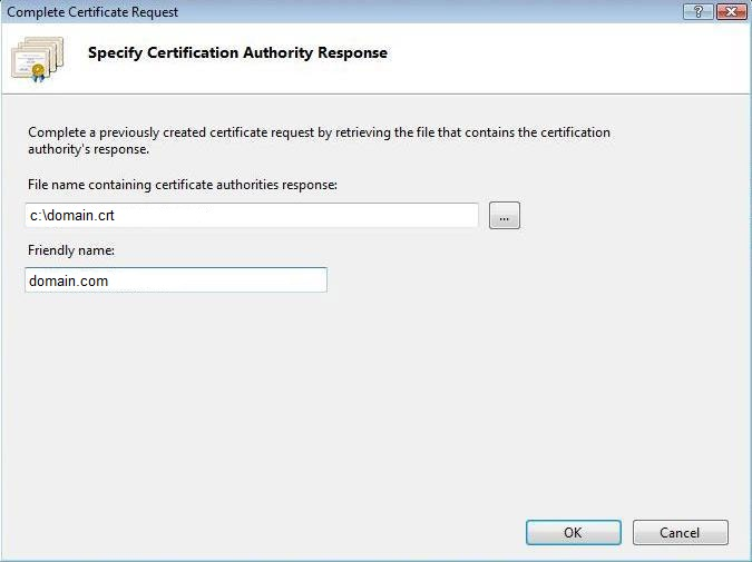 How To Install Wildcard Ssl Certificate In Iis 7