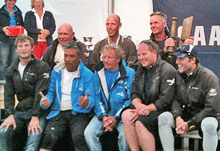 J/111 Xcentric Ripper- winning team at Breskens Sailing weekend