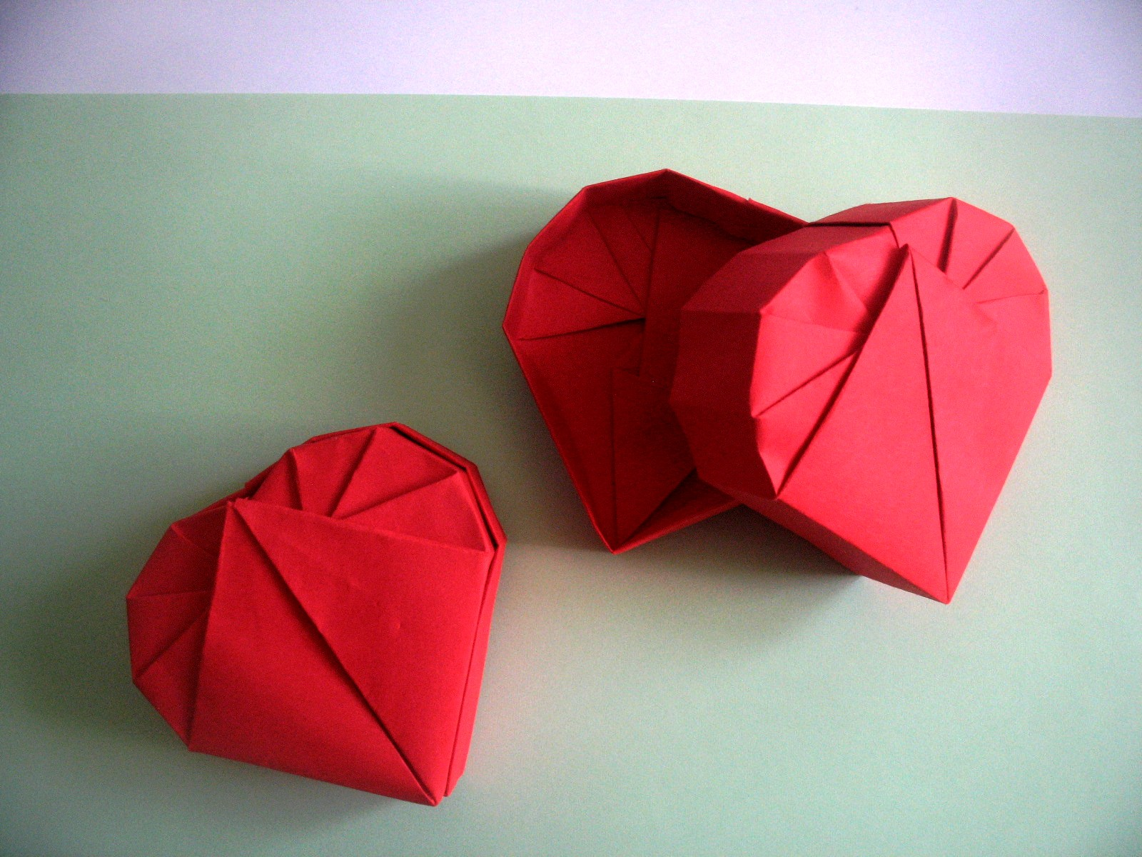 INTERFERENTE: Wonderful Origami Heart Box by Robin Glynn ... - photo#20