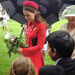 Meeting Prince William & the Duchess of Cambridge