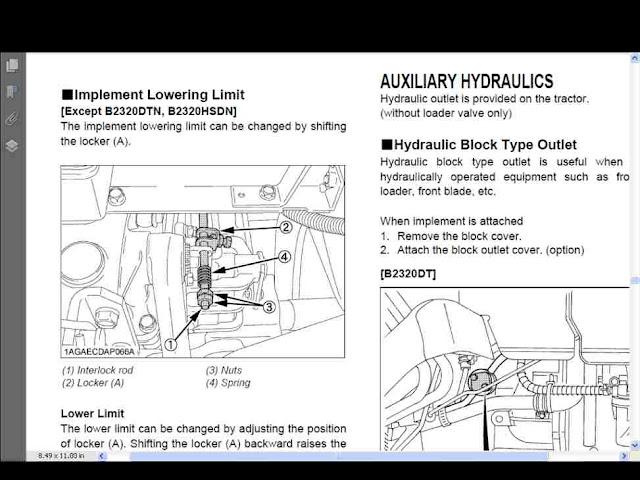 Kubota Tractor Relay : Kubota b parts diagram l elsavadorla