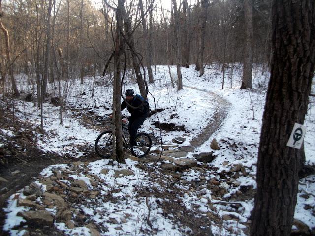 Smooth Creek Crossing at Berryman Trail