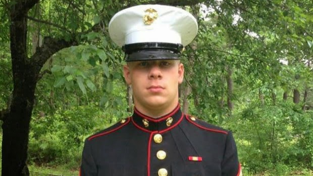 Dead Marine had been refused permission to wear uniform at high school graduation