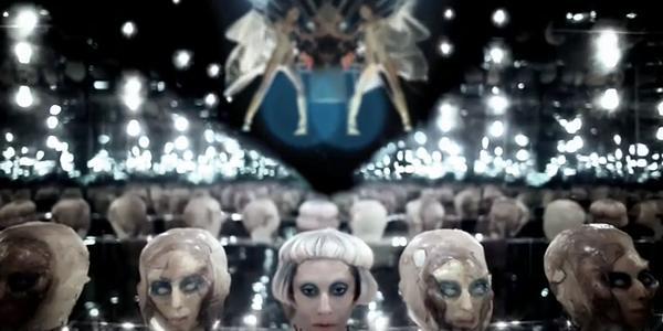 lady gaga born this way video premiere. Lady+gaga+orn+this+way+