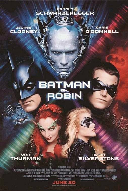 Poster Of Batman & Robin (1997) Full Movie Hindi Dubbed Free Download Watch Online At Alldownloads4u.Com