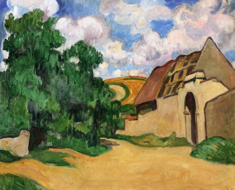 Louis Valtat - An Abandoned Farm