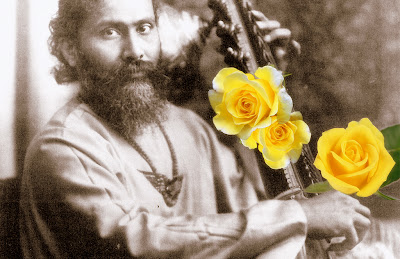 Collage of Hazrat Inayat Khan by Sadiq Alam @ MysticSaint