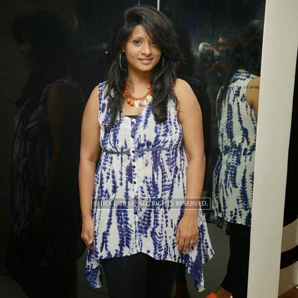 Prajanya during the launch of salon 'Essensuals', in Chennai.