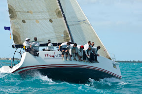 J/122 Teamwork sailing Key West