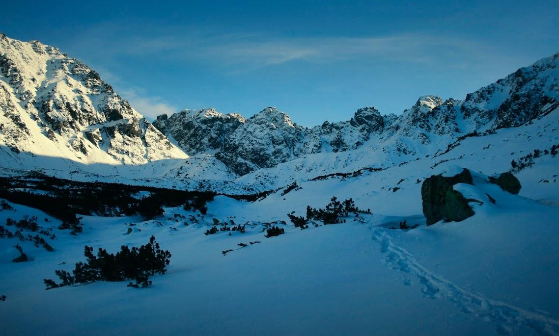 Dolina Pańszczyca zima