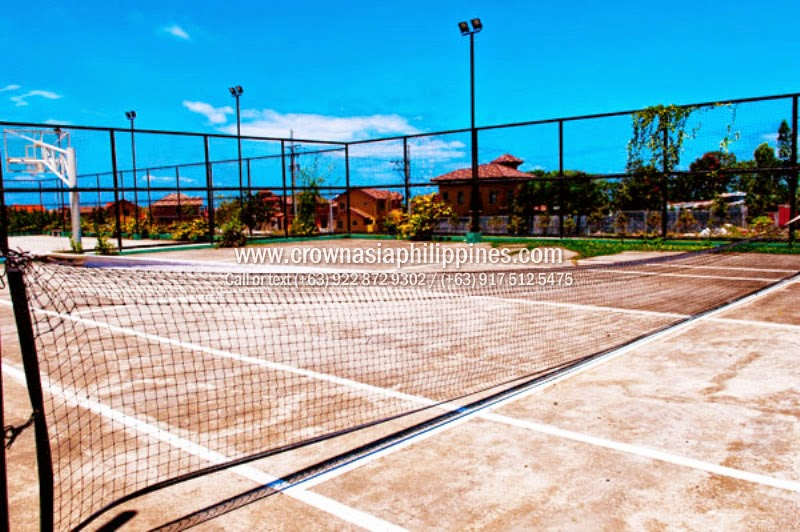 Crown Asia Valenza Amenities - Basketball Court