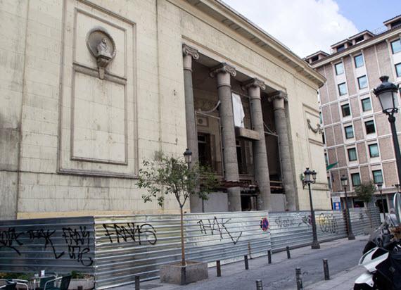 Un gimnasio y un centro comercial en los antiguos cines Madrid de la plaza del Carmen