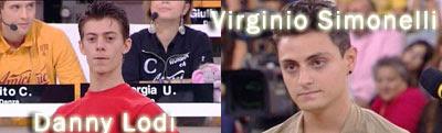 I vincitori di amici 2011: virginio e danny