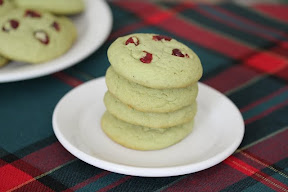Green Tea sugar cookies