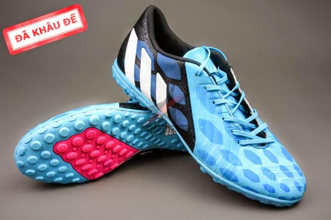 bán buôn giày bóng đá Predator Absolado xanh đen TF