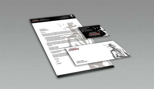 Plantilla PSD de papelería