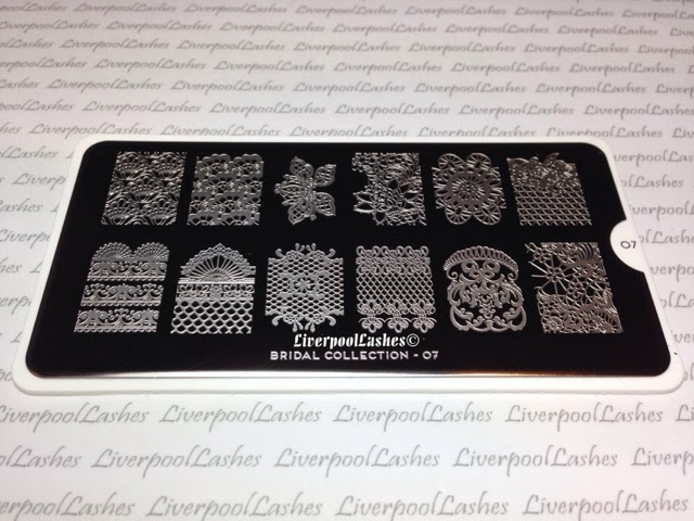 moyou london nail stamping image plates konad bridal collection 07