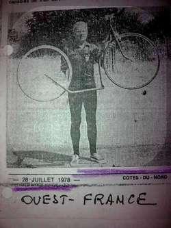 Louis-Georges BOGRAND et sa Trocyclette