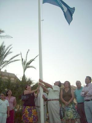 Bandera azul Sabinillas