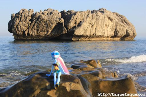 Abbey Bominable y Tiritona van a la playa por primera vez (Estepona - Málaga)