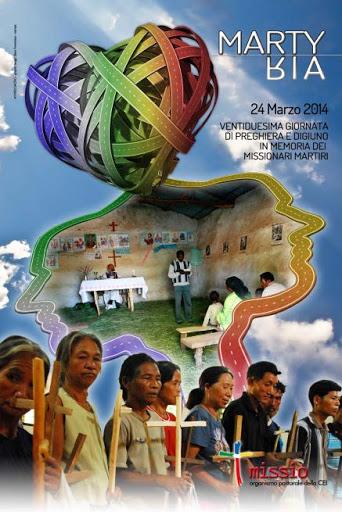 22esima giornata di preghiera e digiuno in memoria dei missionari martiri