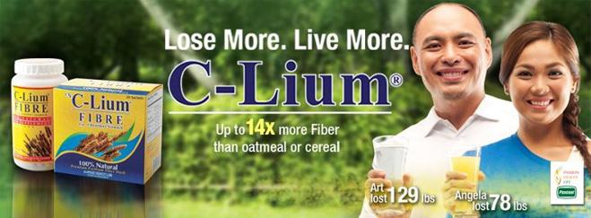 c lium fiber lose weight