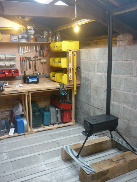 Wood Burner In Shed Advice Singletrack Magazine