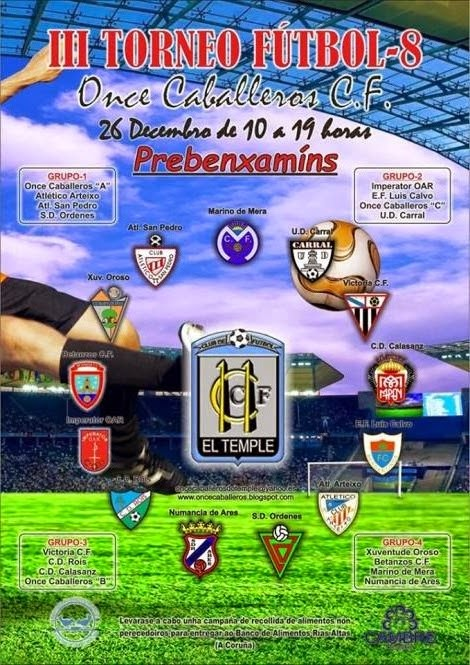 III Torneo de Fútbol - 8 Once Caballeros C.F.