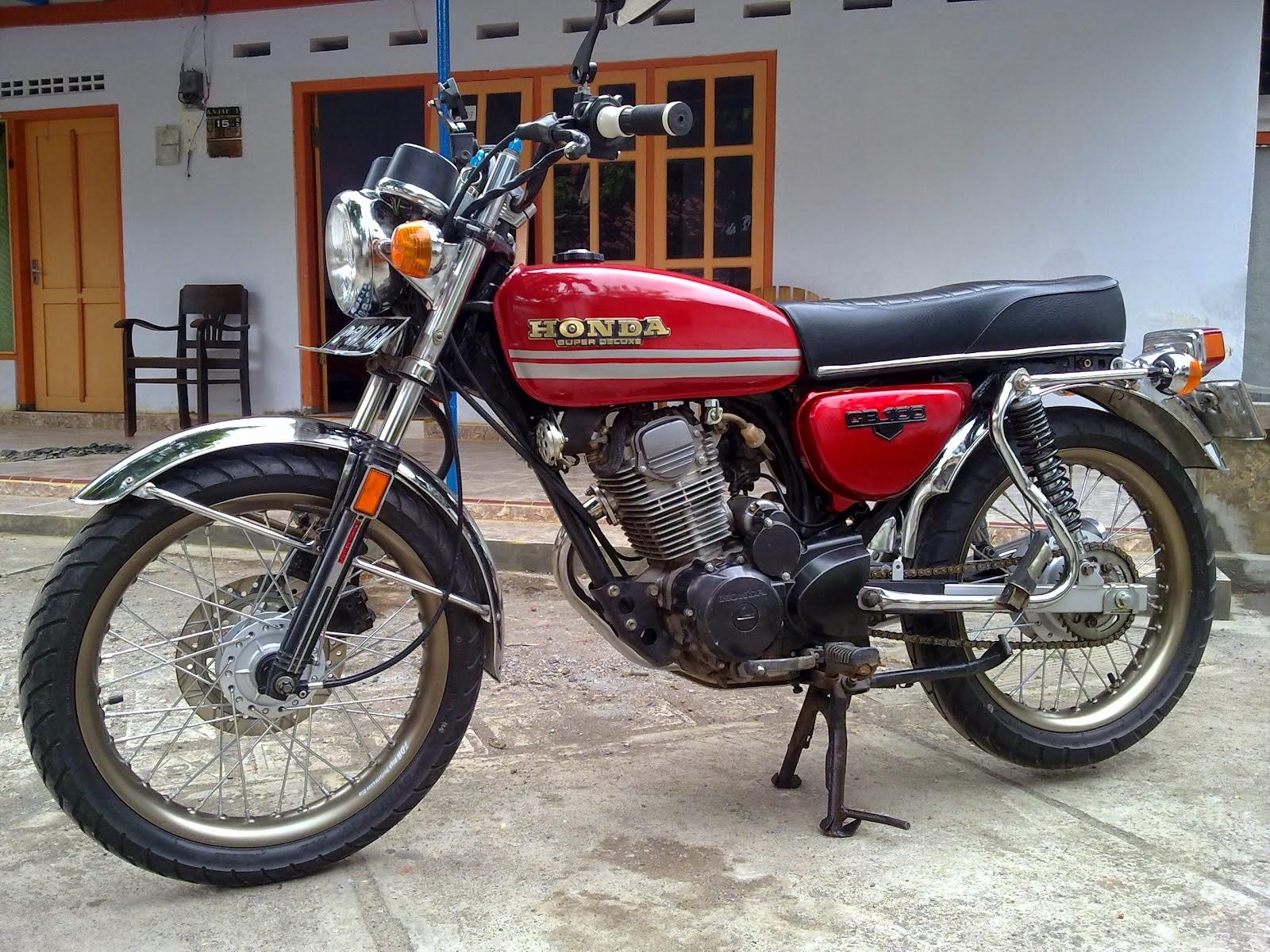 102 Modifikasi Motor Gl Max Cb Modifikasi Motor Honda CB Terbaru