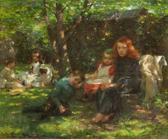 Walter Frederick Osborne - Summertime, 1901