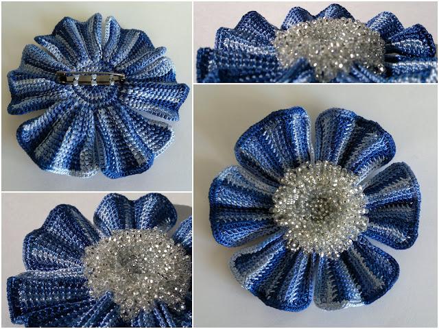 好多种漂亮的钩花(24) - 柳芯飘雪 - 柳芯飘雪的博客