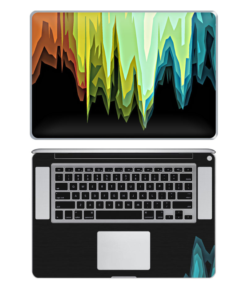 2012 Macbook Pro 15 Custom Skin (printed at DecalGirl.com)