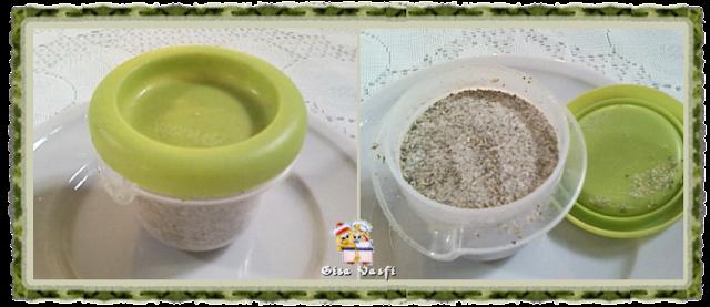 Mix de sal e ervas desidratadas
