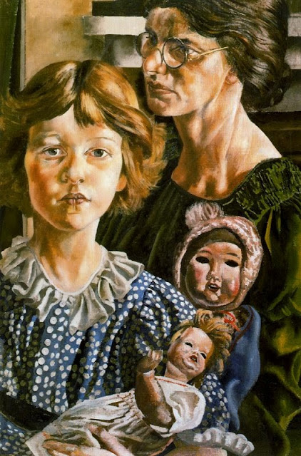 Stanley Spencer - Hilda, Unity and Dolls, 1937
